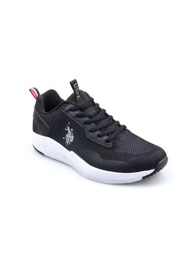 U.S. Polo Assn. Sam Erkek Günlük Sneaker Ayakkabı Siyah